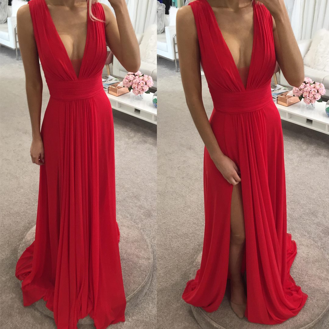 Della Dress JX1099 by Jadore Evening Red Wedding Guest Dresses