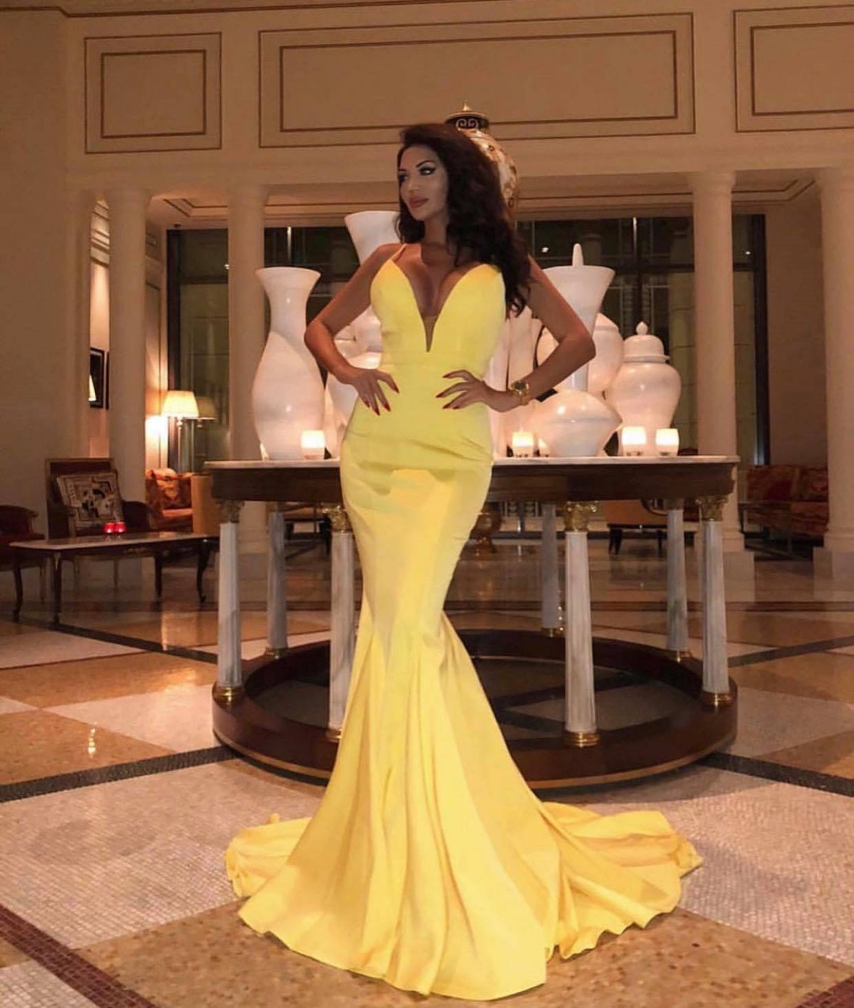 Daisy JX1050 Jadore Yellow Formal Dresses Sydney Online Australia Afterpay