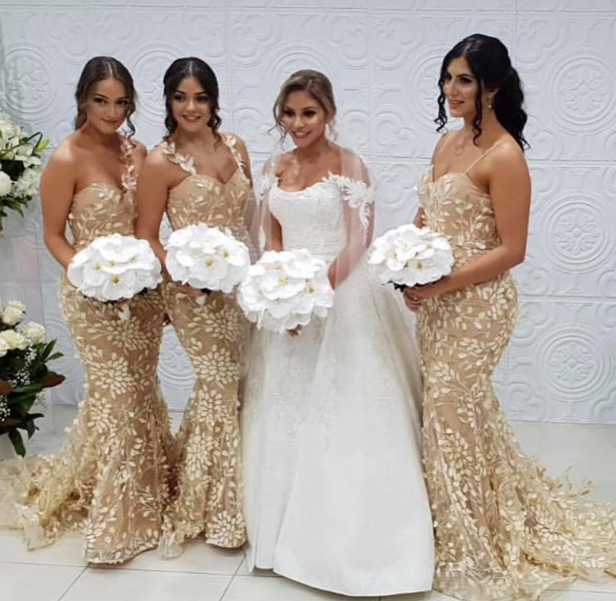 Champagne Bridesmaid Dresses Sydney
