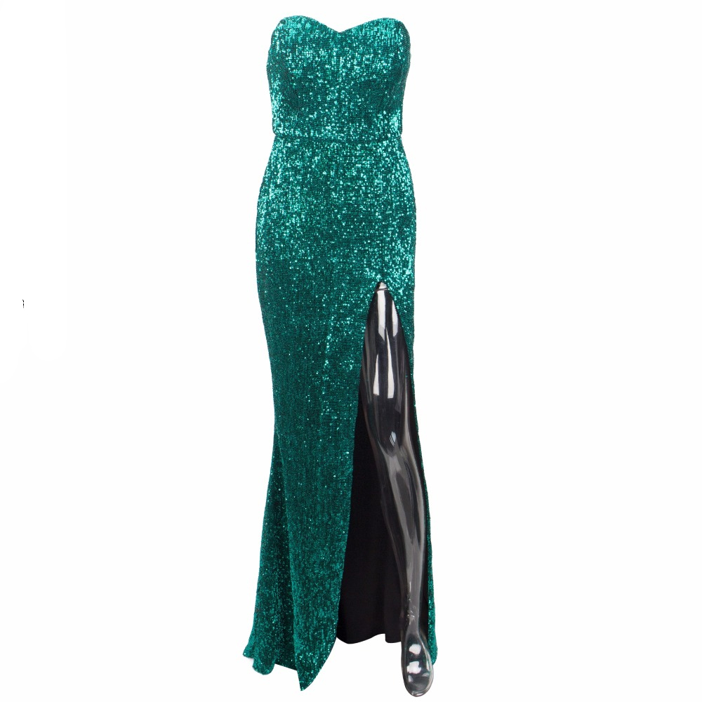 Green Sequin Formal Dresses Online Afterpay Lilly Luxe the Label