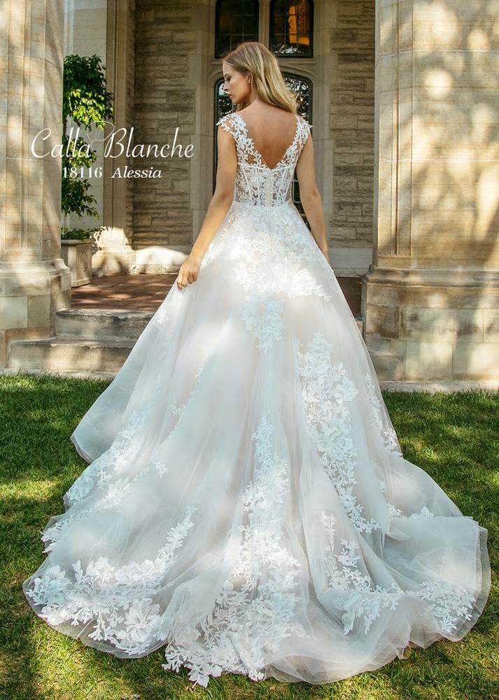 Alessia 18116 Calla Blanche Bridal Wedding Gowns Online Australia Sydney brisbane adelaide perth canberra