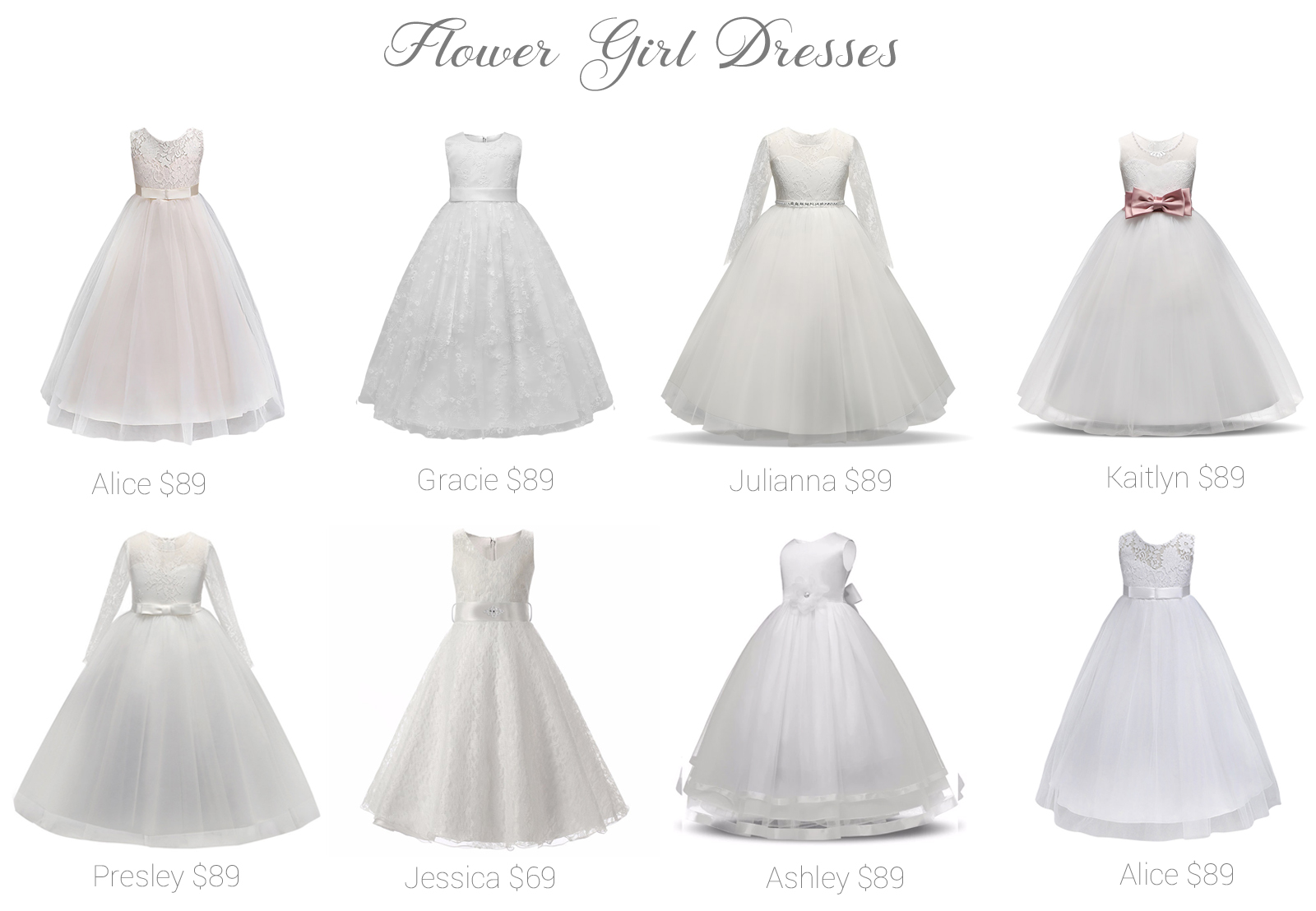 e8ecd36f20 Flower Girl Dresses! Shop online and in store! - Fashionably Yours