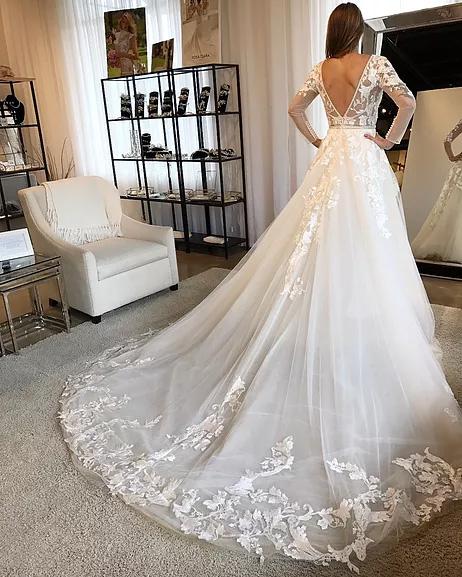 Debra Calla Blanche Long Sleeve Wedding Dresses Online Australia Sydney Melbourne Brisbane Adelaide Perth