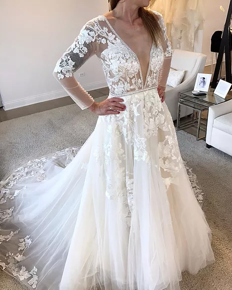 Long Sleeve Wedding Dresses Online Australia: Sydney