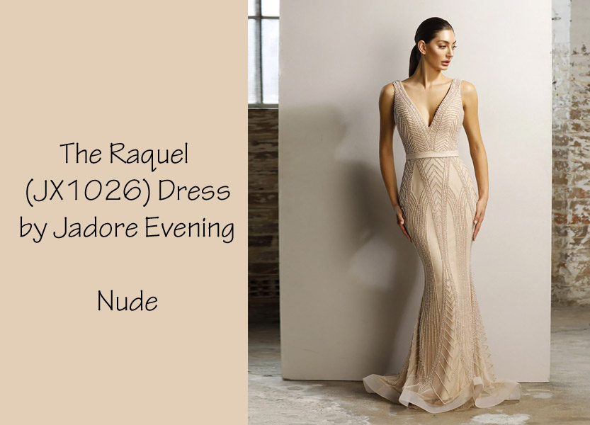 The Raquel Dress (JX1026) by Jadore Evening Mother of the Bride Dress Mother of the Groom Dress Charity Ball Dress