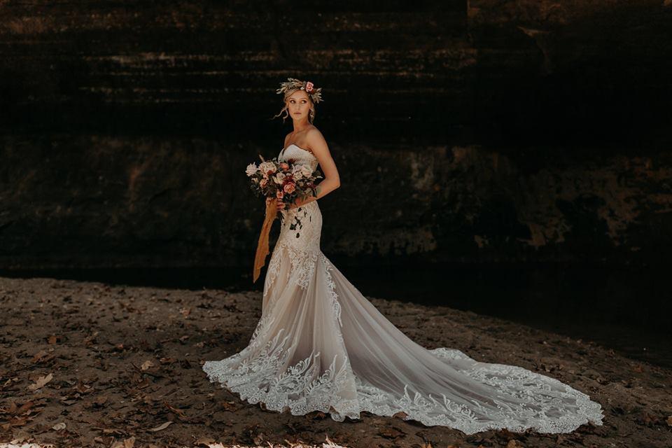 Yasmine Calla Blanche Bridal Lace Wedding Dresses Online Australia Sydney Melbourne Brisbane Adelaide Perth