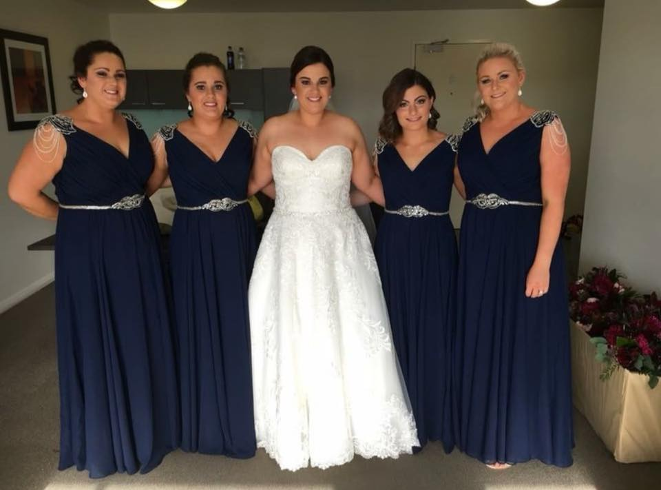 LD1062 Les Demoiselle Navy Bridesmaid Dresses Online Australia Afterpay Sydney Brisbane Melbourne