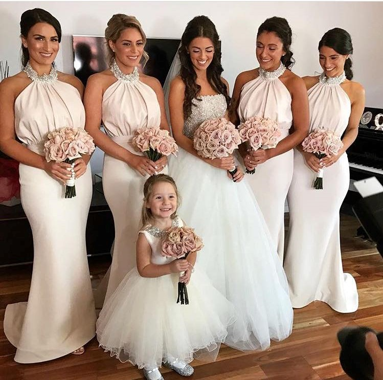 Champagne Bridesmaid Dresses: Buy