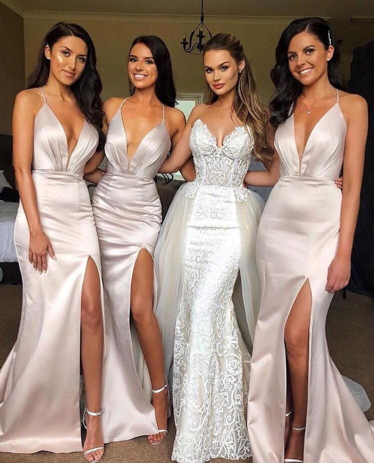 Champagne Bridesmaid Dresses: Buy Bridesmaid