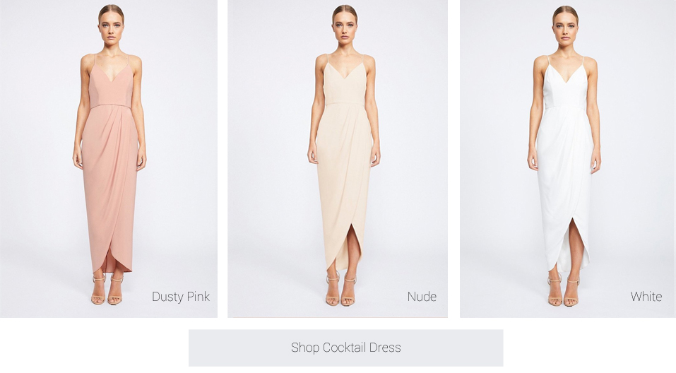 9aa79eae05 This dress is very versatile and can also be worn for a wedding guest  attending a wedding. The High Neck Ruched ...