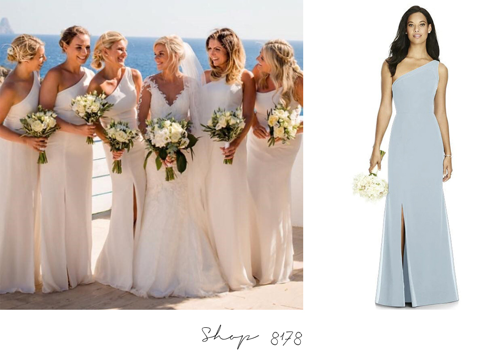 8178 Dessy Bridesmaids White Bridesmaid Dresses Online Australia Sydney Melbourne Adelaide Perth Brisbane Afterpay