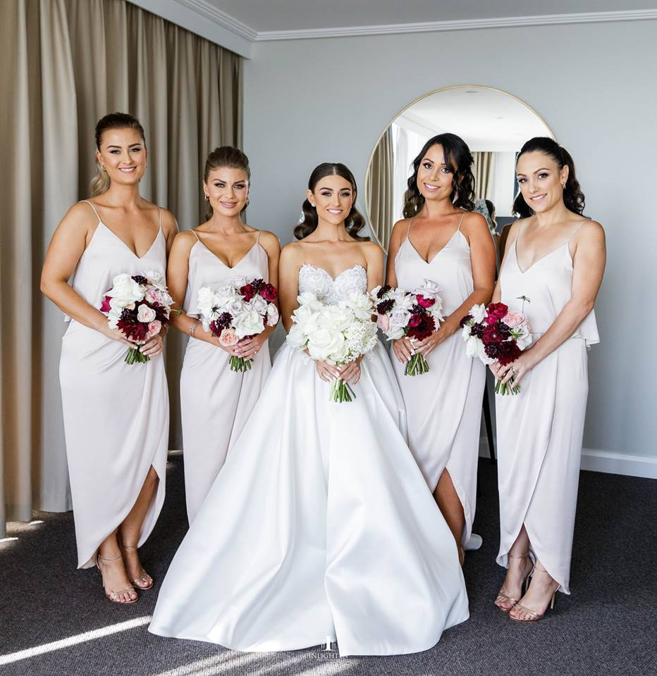Luxe Cocktail Frill Porcelain Shona Joy Bridesmaid Dresses Perth Australia Afterpay